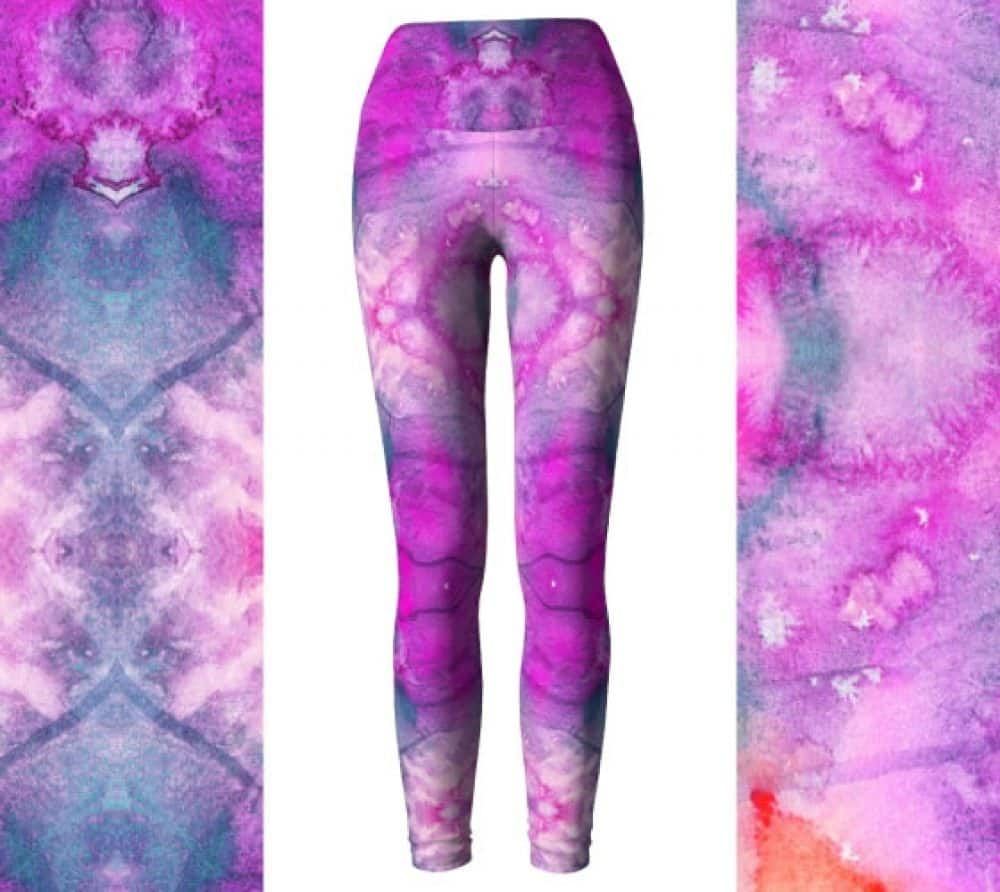 30% OFF Hot Pink Eco Friendly Leggings