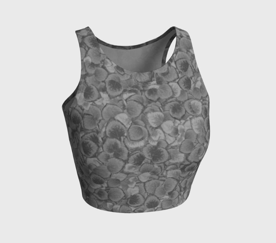 Aspen Leaves Crop Top