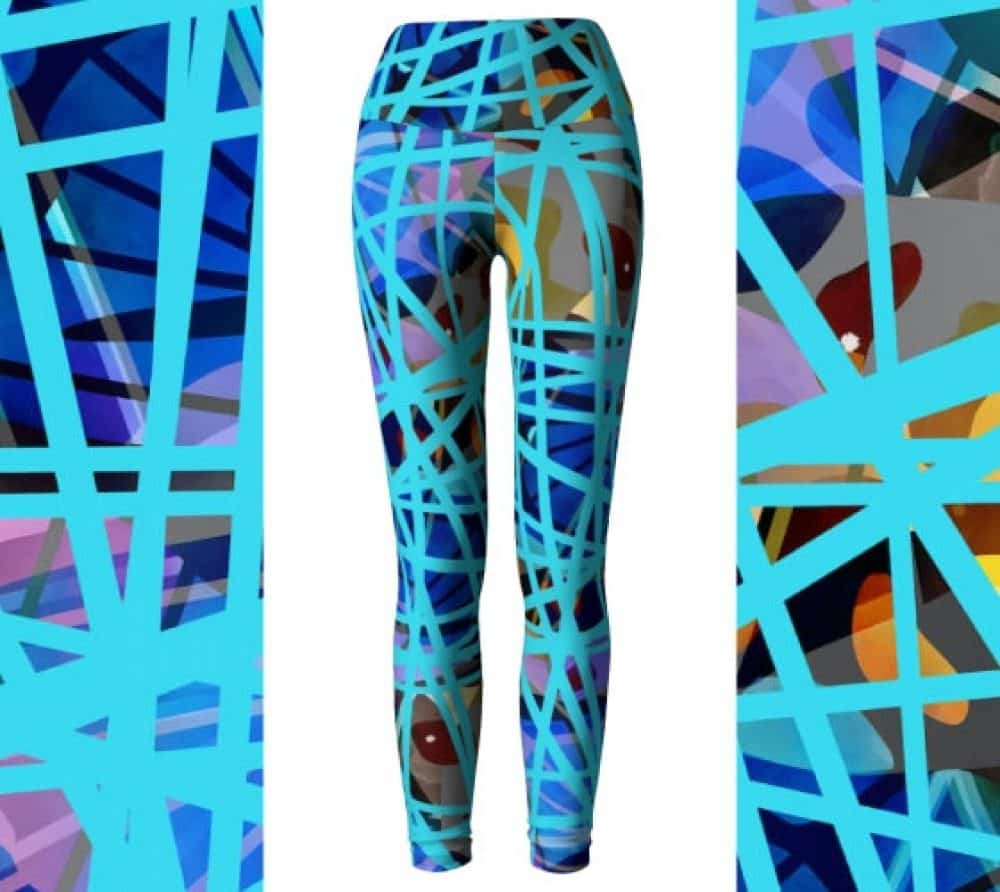 Eco friendly high waist yoga leggings