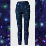Firefly Garden High Waist Yoga Pants