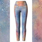 Hand painted Eco Friendly Watercolor Leggings