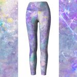 Handpainted Galaxy Leggings