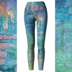 Handpainted Watercolor Leggings